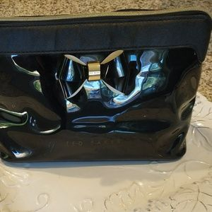 Ted Baker cosmetic bag.good cond. Tags inside.